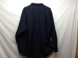 Men's Calvin Klein Sport Long Sleeve Black Collared Dress Shirt Sz XL image 4
