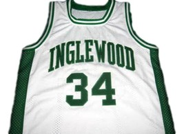 Paul Pierce #34 Inglewood High School Men Basketball Jersey White Any Size image 1