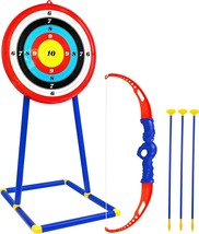 Kiddie Play Bow and Arrow for Kids Toy Archery Set with Target and Sucti... - $30.99