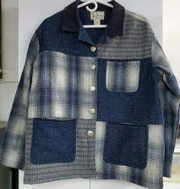 TANTRUMS COLLECTION Button Up Jacket with Patch Pockets Size L 0011 - $19.27
