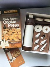 Vintage Cookie Press by Hutzler Gerda Easy Action Food Decorator Spritz ... - $9.00