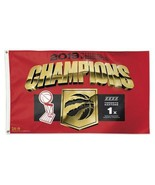 Toronto Raptors NBA Finals 2019 Champions 3' by 5' Flag by WinCraft - $44.99