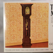 House Of Miniatures William and Mary Tall Case Clock, New Old Stock Mode... - $9.70