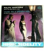 """Ralph Marterie & His Marlboro Men """"Music For A Private Eye"""" RARE PROMO C... - $29.65"""