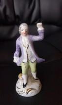 Vintage porcelain Victorian man figurine Germany - $9.89