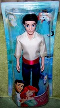 "Disney Princess Little Mermaid PRINCE ERIC 11""H Doll  New - $14.88"