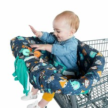 Bright Starts Ultra Cozy Shopping Cart or High Chair Cover, Animal Pattern - $79.00