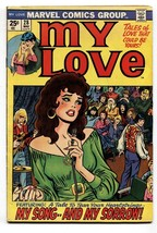 My Love #28 comic book 1974-Marvel-romance-Jack Kirby-John Verpoorten-VG+ - $27.74