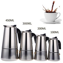 Stainless Steel Moka Espresso Coffee Latte Maker Pot Percolator Filter S... - $16.99+