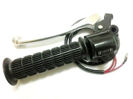 Kawasaki G3SS G3T G7 KV75 MT1 Handle Switch LH + Grip rubber Ass'y Nos - $86.39
