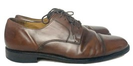 Cole Haan Dress Shoe Size 10M Lace Up Dark Brown Mahogany - $24.99