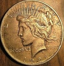 1926-D UNITED STATES SILVER PEACE DOLLAR COIN - Excellent example! - $39.25