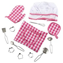 Liberty Imports 13 Piece Chef Dress Up Costume | Includes Apron, Chef Ha... - $13.42