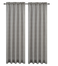 Urbanest Cosmo Set of 2 Sheer Curtain Panels image 5