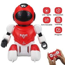 Sikaye Remote Control Robot, Mini Programmable RC Robot with Infrared Co... - $22.50