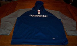 INDIANAPOLIS COLTS NFL FOOTBALL HOODIE HOODED SWEATSHIRT 2XL XXL NEW w/ TAG - $39.60