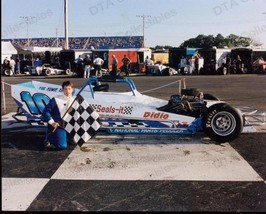 JEREMY UNRUH #10 WINNER SUPERMODIFIED CAR RACING PHOTO FN - $21.83