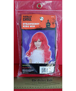 Fashion Holiday Head Accessory OSFM Strawberry Kids Wig Halloween Costum... - $6.64