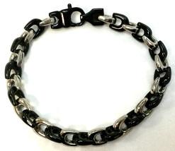 Unisex Stainless Steel Titanium Bracelet - $59.00