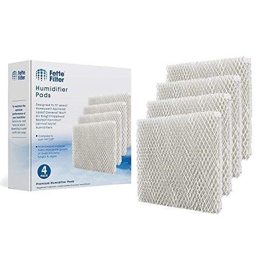 Fette Filter 4 Pack Whole House Humidifier Replacement Pads Compatible with Hone