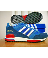 adidas Originals Mens ZX 750 Trainers Bluebird/Blue/Navy/Red/White/ All ... - $133.08+