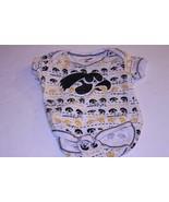 Infant/Baby Iowa Hawkeyes 3/6 Months Creeper One-Piece (White) Pro Edge - $4.99