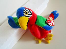 TY Beanie Babies JABBER Parrot Bird PLUSH TOY  1997 - $6.99