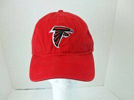 Reebok Team Apparel NFL Red Black Cap Atlanta Falcons Football Sport Adjustable - $19.79