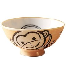 Baby Monkey Design Multifunctional Creative Ceramic Bowl Cute Bowl