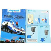 Playmobil RC Train 4017 4019 4021 4396 4393 Instruction Manuals 1998 Cat... - $10.99