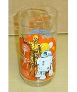 1977 Burger King-Coke-Star Wars R2 & C-3PO Glass Nm-M - $19.79