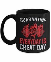 PixiDoodle Foodie Fitness Coach Pandemic Gift Coffee Mug (11 oz, Black) - $20.99