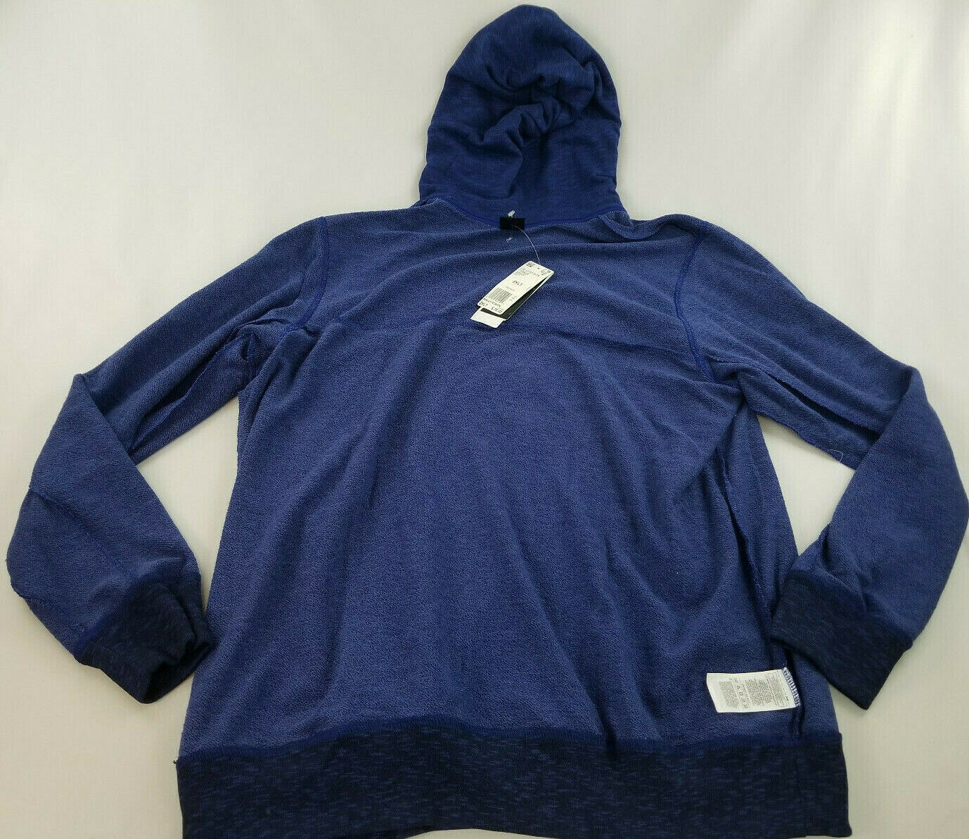 new ADIDAS men jacket hoodie full zip CW9658 blue 2XL MSRP $75 image 6