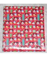American Greetings Disney Mickey Mouse Christmas Wrapping Paper 20 SQ FT... - $5.50