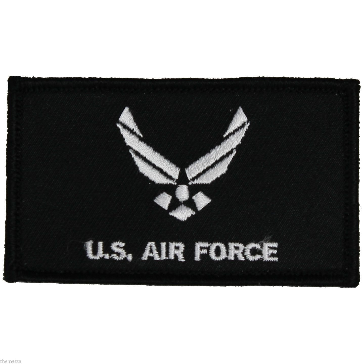 Primary image for AIR FORCE 2 X 3  EMBROIDERED MILITARY LOGO  PATCH WITH HOOK LOOP