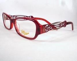 Apple Bottoms 749 Burgundy 3 Eyeglasses Metal Plastic 53-15-135 Frames New - $22.76