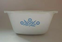 Vintage Corning Ware 1.75 Quart Casserole Blue Cornflower No Lid  P-1 3/4-B - $14.84