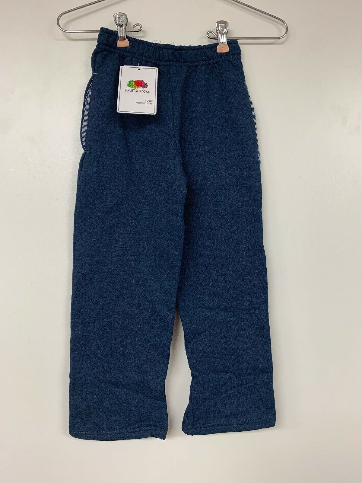 Primary image for Fruit Of The Loom Boy's Fleece Trailblazer Open Bottom Pant, Blue, XS/4–5