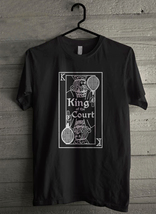 King of the Court tenis - Custom Men's T-Shirt (4781) - $19.13+
