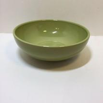 "Vegetable Serving Bowl Homer Laughlin Olive Green 8.5"" Lead Free - $14.50"