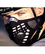 Wolf Bike anti-pollution bike neoprene mask vented charcoal allergy fore... - $19.99