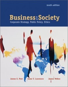 Business and Society: Strategies for the 1980s