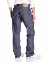 Levi's Strauss 501 Men's Shrink To Fit Straight Leg Raw Denim Jeans 501-2225 image 2