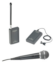 Audio-Technica VHF TwinMic System with Battery-Powered Receiver & Transm... - $169.00