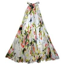 Sleeveless Plus Size Leopard Chiffon Dress Maxi Summer Beach Leopard Dresses image 8