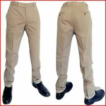 Herren hose Gr. 46 Thiryfive Italien Baumwolle beige elegante casual UVP... - $45.30