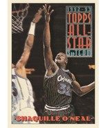 1993-94 Topps #134 Shaquille O'Neal AS - $0.50