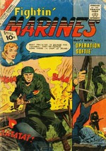 FIGHTIN' MARINES #42 TERRORISTS ISSUE 1961 AFRICA WAR FR - $14.90