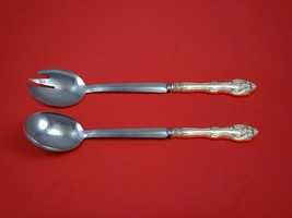 "La Scala by Gorham Sterling Silver Salad Serving Set Modern Custom Made 10 1/2"" - $149.00"