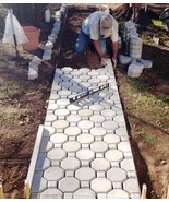 Keyhole Interlocking Driveway Paver Molds 18+2 Edgers FREE! Make 1000s o... - $144.99